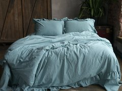 КПБ 160x220 LIMASSO MINERAL BLUE EXCLUSIVE, 160х220